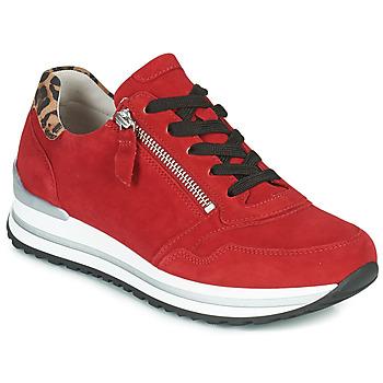 Zapatos Mujer Zapatillas bajas Gabor 5652838 Rojo