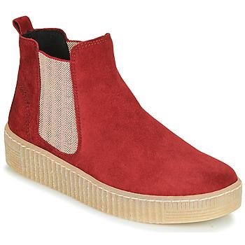 Zapatos Mujer Botas de caña baja Gabor 5373118 Rojo