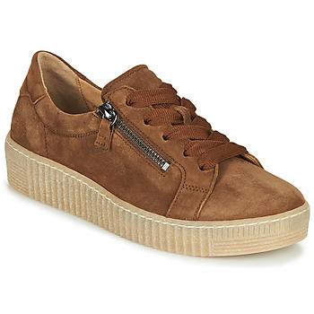 Zapatos Mujer Zapatillas bajas Gabor 5333412 Camel