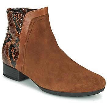 Zapatos Mujer Botines Gabor 5271235 Camel