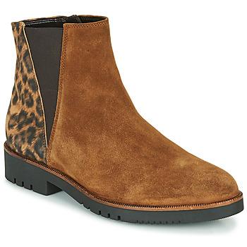 Zapatos Mujer Botines Gabor 5658143 Cognac