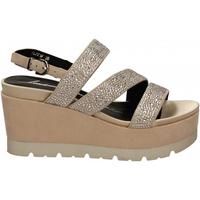 Zapatos Mujer Sandalias Luciano Barachini CAMOSCIO naturale
