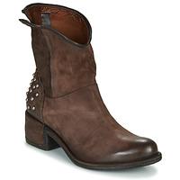Zapatos Mujer Botas de caña baja Airstep / A.S.98 OPEA STUDS Marrón