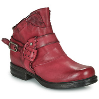Zapatos Mujer Botas de caña baja Airstep / A.S.98 SAINT EC STRAPE Burdeo