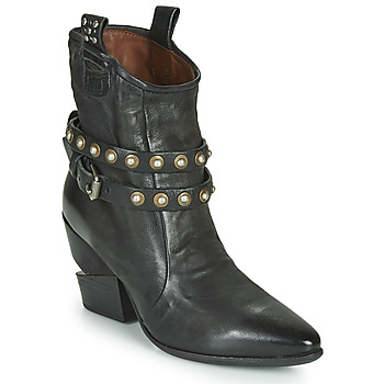 Zapatos Mujer Botines Airstep / A.S.98 TINGET BUCKLE Negro