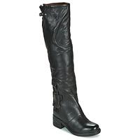 Zapatos Mujer Botas urbanas Airstep / A.S.98 NOVA 17 HIGH Negro