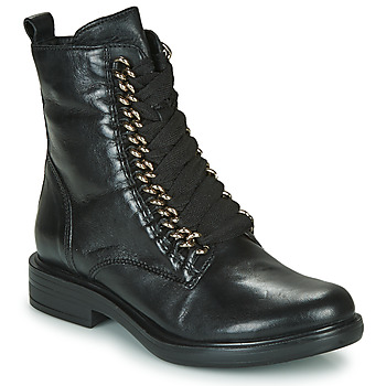 Zapatos Mujer Botas de caña baja Mjus CAFE CHAIN Negro