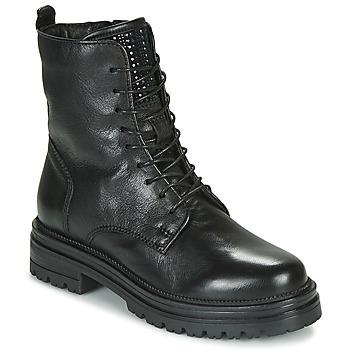 Zapatos Mujer Botas de caña baja Mjus DOBLE LACE Negro