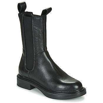 Zapatos Mujer Botas de caña baja Mjus MORGANA CHELS Negro