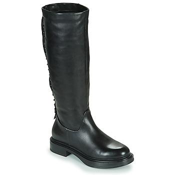 Zapatos Mujer Botas urbanas Mjus MORGANA HIGH Negro