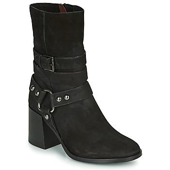 Zapatos Mujer Botines Mjus TUA BUCKLE Negro