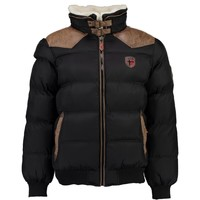 textil Niño Plumas Geographical Norway ABRAMOVITCH BOY Negro