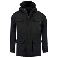 textil Niño Parkas Geographical Norway ALCALINE BOY Negro