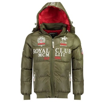 textil Niño plumas Geographical Norway AVALANCHE BOY Kaki