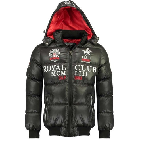 textil Niño Plumas Geographical Norway AVALANCHE BOY Negro