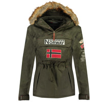 textil Niño Parkas Geographical Norway BARMAN BOY Kaki