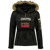 textil Niño Parkas Geographical Norway BARMAN BOY Negro