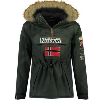 textil Niño Parkas Geographical Norway BARMAN BOY Gris
