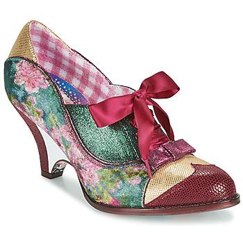 Zapatos Mujer Zapatos de tacón Irregular Choice FORCE OF BEAUTY Burdeo / Verde