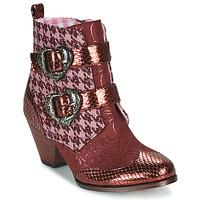 Zapatos Mujer Botas de caña baja Irregular Choice TOO HEARTS Burdeo