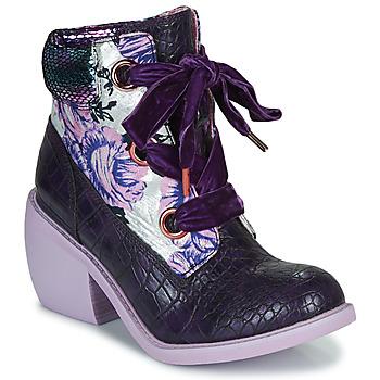 Zapatos Mujer Botas de caña baja Irregular Choice SCARPER Violeta