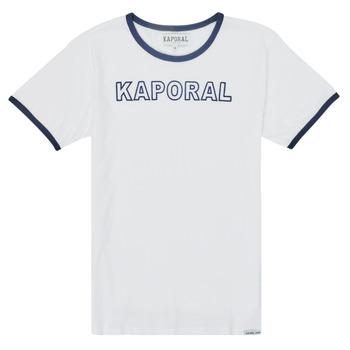 textil Niño Camisetas manga corta Kaporal ONYX Blanco