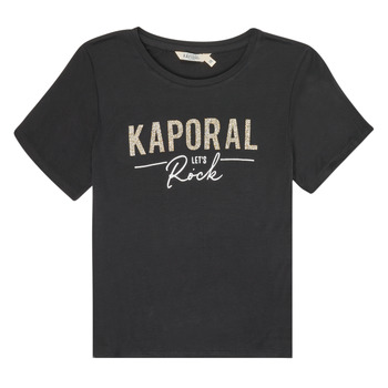 textil Niña Camisetas manga corta Kaporal MAPIK Negro