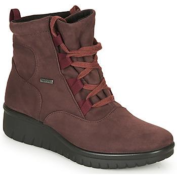 Zapatos Mujer Botas de caña baja Romika Westland CALAIS 08 Burdeo