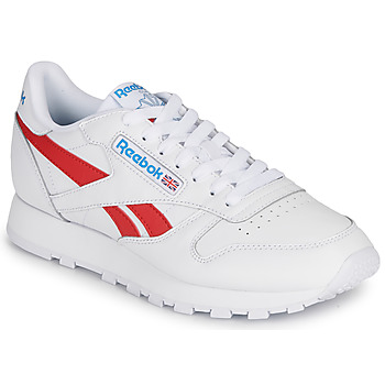 Zapatos Zapatillas bajas Reebok Classic CL LTHR Blanco / Rojo