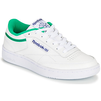 Zapatos Zapatillas bajas Reebok Classic CLUB C 85 Blanco / Verde