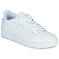 Zapatos Mujer Zapatillas bajas Reebok Classic CLUB C 85 Blanco / Iridescent