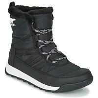 Zapatos Mujer Botas de caña baja Sorel WHITNEY II SHORT LACE Negro
