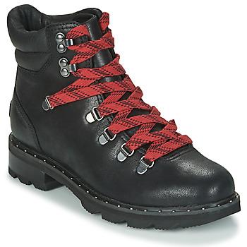 Zapatos Mujer Botas de caña baja Sorel LENNOX HIKER Negro