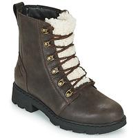 Zapatos Mujer Botas de caña baja Sorel LENNOX LACE COZY Marrón