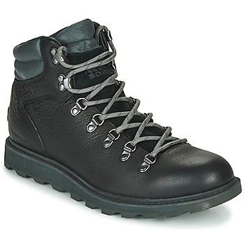 Zapatos Hombre Botas de caña baja Sorel MADSON HIKER II WP Negro