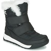 Zapatos Niños Botas de caña baja Sorel CHILDRENS WHITNEY II STRAP Negro