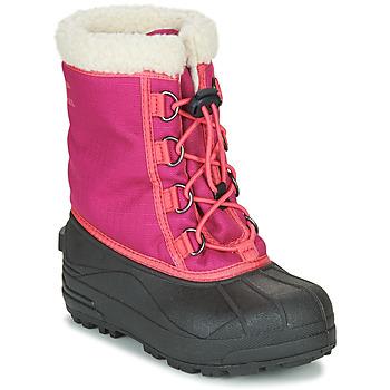Zapatos Niña Botas de nieve Sorel YOUTH CUMBERLAND Rosa