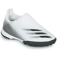 Zapatos Niños Fútbol adidas Performance X GHOSTED.3 LL TF J Blanco