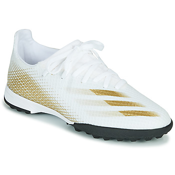 Zapatos Niños Fútbol adidas Performance X GHOSTED.3 TF J Blanco