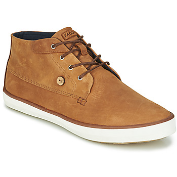 Zapatos Hombre Zapatillas altas Faguo WATTLE Marrón