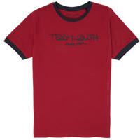 textil Niño Camisetas manga corta Teddy Smith TICLASS 3 Rojo