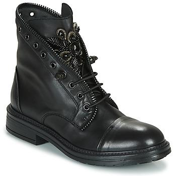 Zapatos Mujer Botas de caña baja Fru.it ADIETE Negro