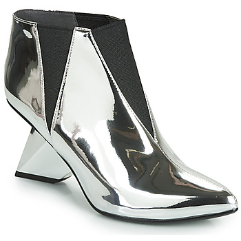 Zapatos Mujer Botines United nude LUCID ROCKIT Plata