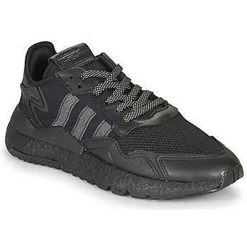 Zapatos Hombre Zapatillas bajas adidas Originals NITE JOGGER Negro