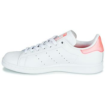 adidas Originals STAN SMITH W Blanco / Rosa - Envío gratis |  - Zapatos Deportivas bajas Mujer 9995