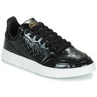 Zapatos Mujer Zapatillas bajas adidas Originals SUPERCOURT W Negro / Barniz