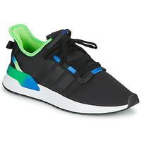 Zapatos Hombre Zapatillas bajas adidas Originals U_PATH RUN Negro / Verde