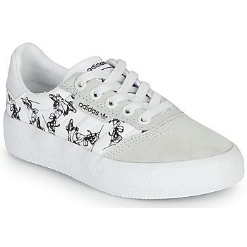 Zapatos Niños Zapatillas bajas adidas Originals 3MC C X DISNEY SPORT Blanco