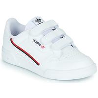Zapatos Niños Zapatillas bajas adidas Originals CONTINENTAL 80 CF C Blanco