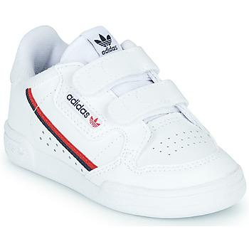 Zapatos Niños Zapatillas bajas adidas Originals CONTINENTAL 80 CF I Blanco
